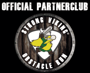 Strong Viking Obstacle Run Official Partner logo black