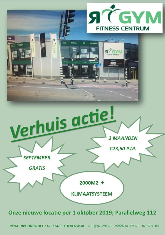 RGYM Verhuis Actie